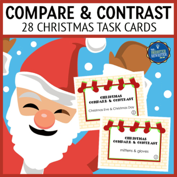 Christmas Compare Contrast Task Cards