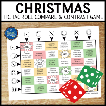 Christmas Compare and Contrast Game