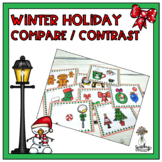 Christmas Compare and Contrast : Speech Therapy Activity