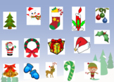 Christmas Compare and Contrast Vocabulary Smartboard Activity