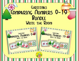 Christmas Comparing Numbers 0-19 Bundle