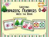 Christmas Comparing Numbers 0-9