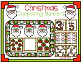 Christmas Comparing Numbers Activity