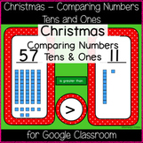 Christmas - Comparing Numbers: Tens and Ones