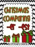 "Christmas Comparing Suffixes ""-er"", ""-est"" Common Core"