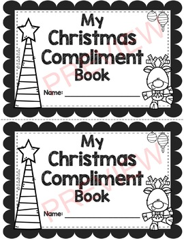 Christmas Compliment Book By Ford And Firsties Tpt
