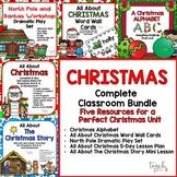 Christmas Complete Classroom Bundle for Preschool, PreK, K & Homeschool