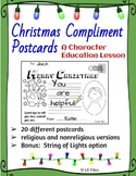 Christmas Compliment Postcards - A Character Education Activity