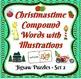 Christmas Compound Word/Illustration Puzzle Sets  BARGAIN PRICE