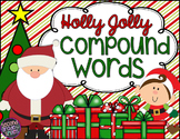 Christmas Compound Words (Interactive Notebook Page & Literacy Centers)
