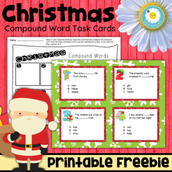 Christmas Compound Words