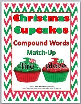 Compound Words - Christmas Theme - Christmas Activity - Wi