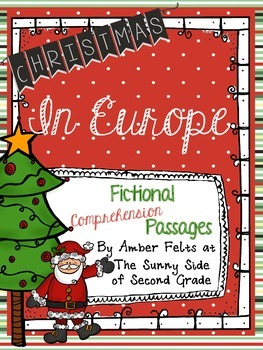 Christmas Comprehension Passages - Fiction