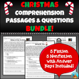 Christmas Comprehension Passages and Questions