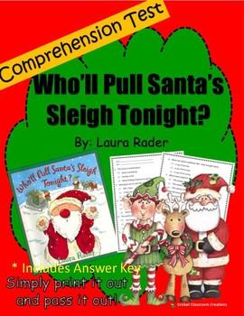 Christmas Comprehension Test: Who'll Pull Santa's Sleigh Tonight?