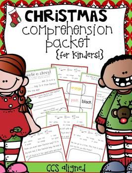 Christmas Comprehension {for Kinders!}