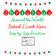 Christmas Computer Activities Christmas Around the World Lunch Menu MS Word