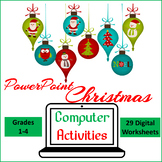 Christmas Computer Activities for PowerPoint