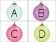 Christmas Concentration: 3-in-1 Alphabet Matching Activity