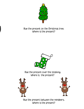 Christmas Concepts Cut and Paste Activity