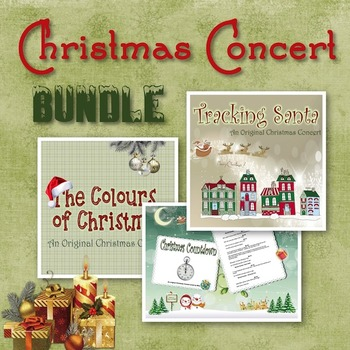 Christmas Concert Bundle - 3 Christmas Play Scripts For Your Holiday Musical