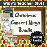 Christmas Concert Growing Mega Bundle - Christmas Play Scripts, Holiday Musical