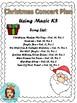 Christmas Concert Plan