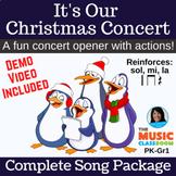 Christmas Concert Song   Performance   Holiday Program   m