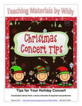 Christmas Concerts: 15 Free Tips for A Better, More Entertaining Production