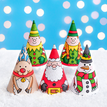 Christmas Cones Craft Bundle
