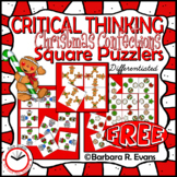 CRITICAL THINKING PUZZLES Christmas Activity Brain Teasers Differentiation GATE