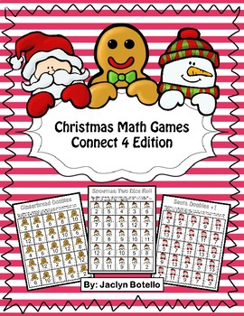 Christmas Math Games: Doubles, Doubles +1 and Two Dice Roll