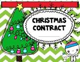Christmas Contract/Matrix