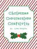 Christmas Contractions Craftivity