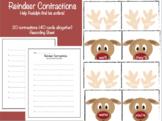 Christmas Reindeer Contractions