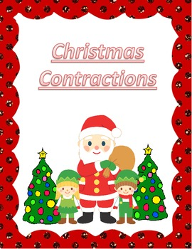 Christmas Contractions Literacy Center