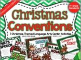 Christmas Conventions: 7 Common Core Language Arts Centers (Gr. 1-3)