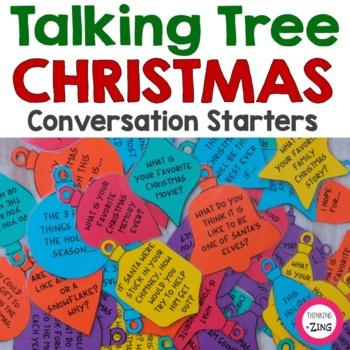 Christmas Conversation Ornaments- Talking Tree