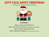 Christmas Conversation & Problem Solving Skills Packet