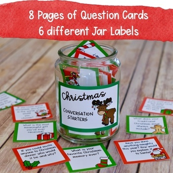 Christmas Conversation Starters and Writing Prompts