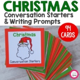 Christmas Conversation Starters and Writing Prompts- Chris