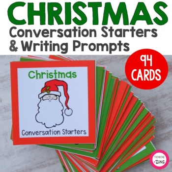 Christmas Conversation Starters & Writing Prompts