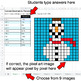 Christmas - Convert Decimals to Percents - Google Sheets Pixel Art