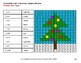 Christmas: Converting Percents to Decimals - Color-By-Number Mystery Pictures