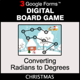 Christmas: Converting Radians to Degrees - Digital Board G