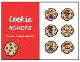 Christmas Cookie Actions: Interactive Book
