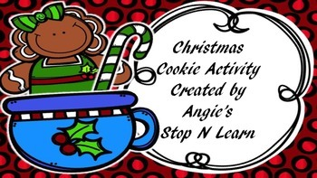 Christmas Cookie Activity