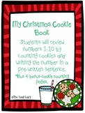 Christmas Cookie Book- Counting 1-10