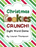 Christmas Cookie CRUNCH Sight Word Game