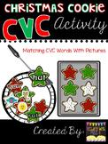 Christmas Cookie CVC Activity